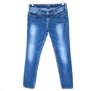 Silver Jeans Suki Mid Pencil Skinny 34x31